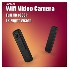 Wifi Mini Camera Full HD 1080P H.264 Kamera IR Night Vision Pen Camera Mini DV DVR Camera Digital Voice Video Record  Camcorder