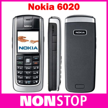 Original Unlocked Nokia 6020 GSM Mobile phone Refurbished Good CHeap Nokia Cellphone Free shipping