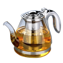Buy 1100ml Coffee puer tea Maker oolong tea pot infuser Glass Kettle Glass green Teapot Filter Strainer Espresso Coffee Kitchen for $32.68 in AliExpress store