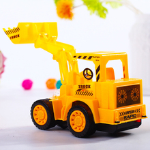 High Quality Electric Excavator Music Model Vehicle Light Flashing Excavator Interactive Kids Children Birthday Christmas Toys