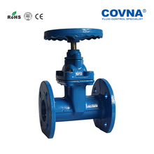 DN250 10 Inch Water Cast iron soft seal flange Gate Valve(China)