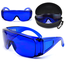 Mayitr Professional Golf Ball Finder Glasses Eye Protection Golf Accessories Blue Lens Sport Glasses With Box