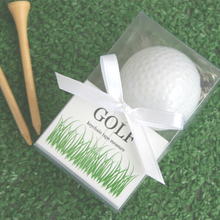 "80boxes/Lot+""A Leisurely Game of Love"" Golf Ball Tape Measure Keychain Wedding Favors+FREE SHIPPING"