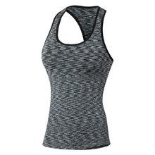 Women Sports Yoga Top T-shirts Fitness Gym Tank sleeveless sport jerseys Breathable Quick Dry Female Elastic  Sweatshirts Vest
