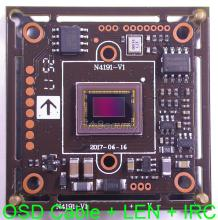 "AHD-H (1080P) 1/2.8"" Sony Exmor CMOS IMX291 + NVP2441 CCTV camera module board with OSD cable + 1080P LEN + IRC(China)"