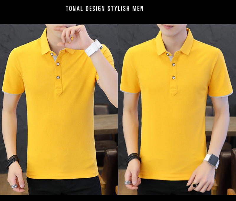 SD Polo Shirts Men 2018 New Arrivals Casual Male Polo Shirts Breathable Cotton Tops High Quality Solid camisa Polos Homme 413 16