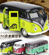 New 2016 Volkswagen bus 1:36 alloy retro vintage car classic car models back to power