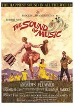 1965: The Sound of Music hillside sing happy songs Moive Film Classic Vintage Poster Decorative DIY Art Home Bar Posters Decor