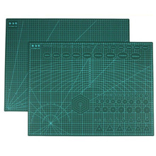 Cutting Mats PVC Durable A2 Tools Carving Patchwork Side for 3mm Thickness