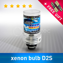 1pc D2S XENON BULB 35W Car Auto Headlight lamp 12V HID D2S 4300K 5000K 6000K 8000K 10000K 12000K HID Replacement kit GLOWTEC