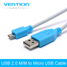 Vention Micro USB 2.0 Cable 1m/1.5m/3m/5m Fast Charger & Data Cable Mobile Phone USB Charger Cable For Samsung HTC Huawei