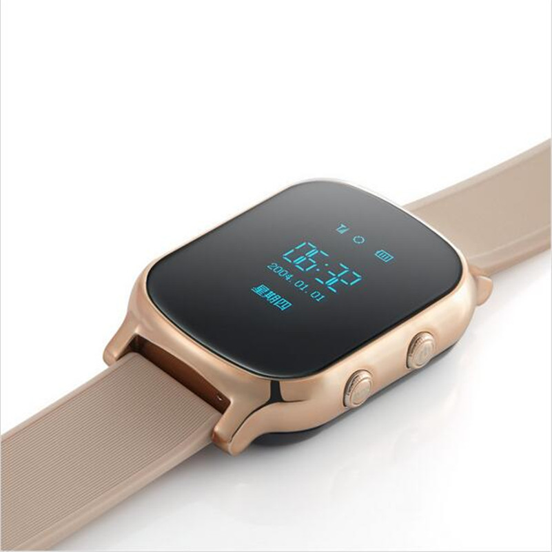 Hot Brand GPS watch T58 tracker for kids child gps bracelet google map sos button gps bracelet personal tracker gsm gps locator<br><br>Aliexpress