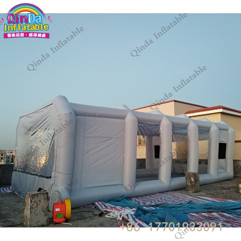 inflatable spray booth34