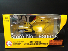 CAT 315C L HYDRAULIC EXCAVATOR Die-cast 1:87 MODEL 55107 Construction vehicles toy