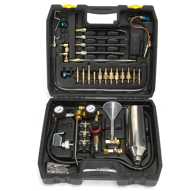 One Set Auto Non-Dismantle Fuel System Cleaner Injector & Test For Petrol EFI Throttle