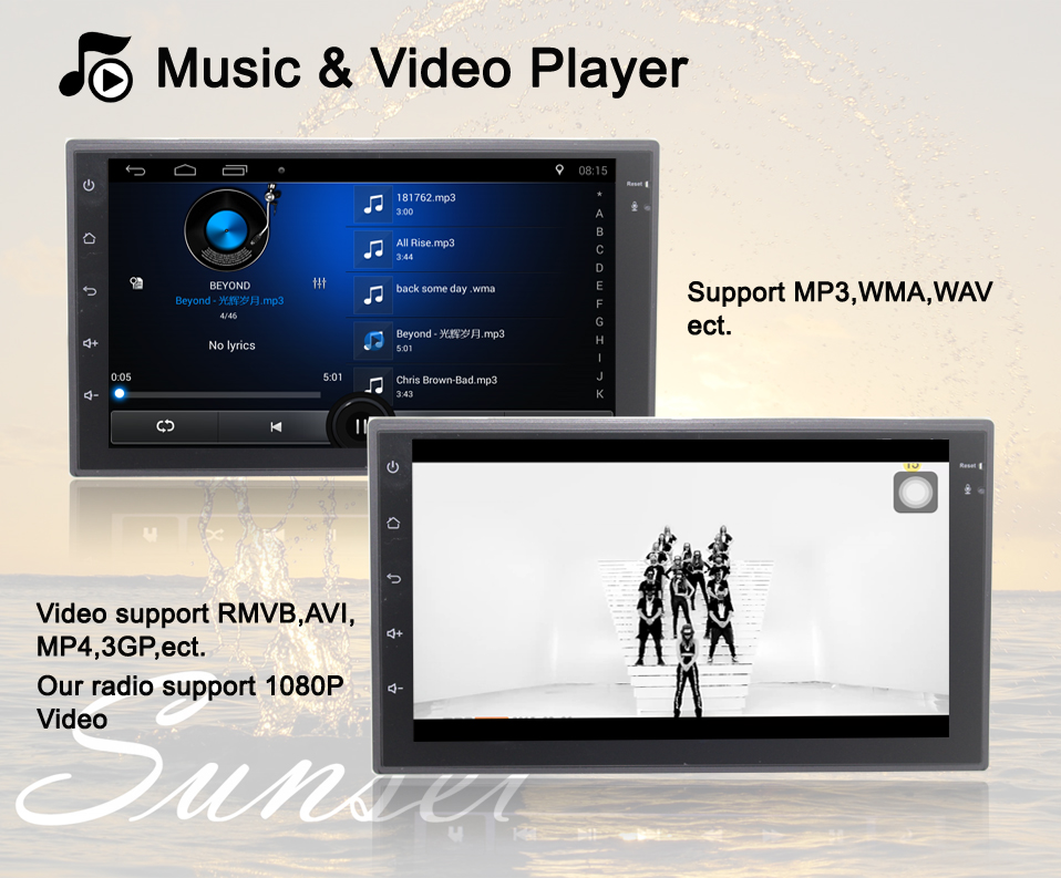 4 Music video player