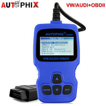 Autophix VAG007 Car Fault Diagnostic Tool EOBD/OBD2 Engine ABS Airbag Code Read Scanner For VW/AUDI/SEAT/SKODA Scan Tool