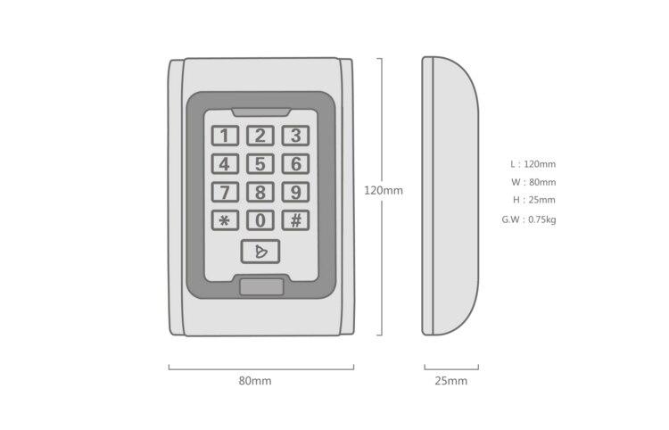 metal access control keypad (8)