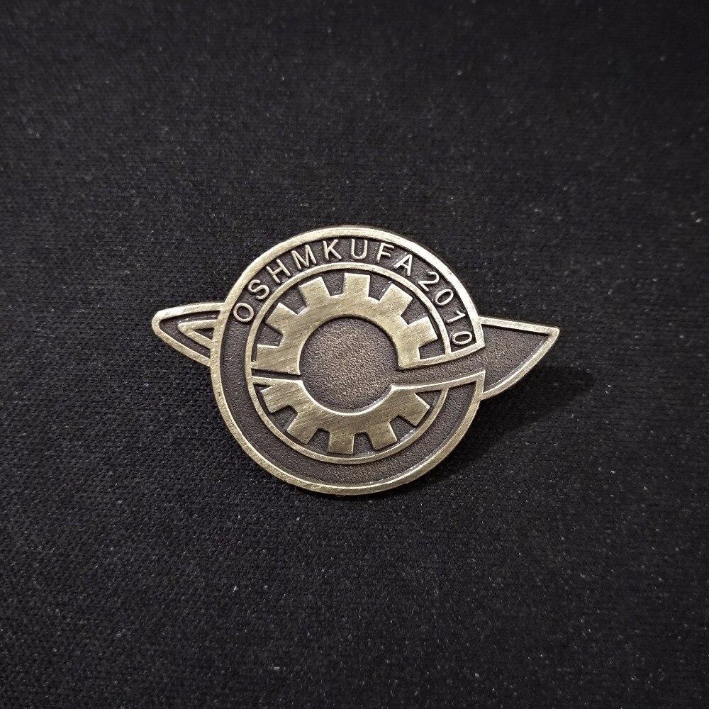 Anime Steins;Gate Badge Makise Kurisu labmen Lapel Badges Pin Brooch Cosplay1