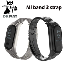 Buy DKPLNT band 3 bracelet Metal Strap wrist strap Screwless Stainless Steel Bracelet Wristbands MiBand 3 strap Xiaomi mi band 3 for $8.33 in AliExpress store