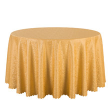 10PCS Wholesale Poly Solid Damask Tablecloth Round Hotel Party Wedding Table Cloths Square Dining Table Cover Pink Table Linens
