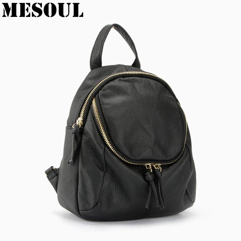 Summer Women Backpack Bag Fashion Design  Backpacks for Teenage Girls School Bags Genuine Leather Travel Bag mochila feminine<br>