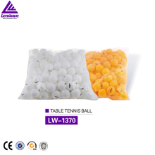 144pcs/bag ping pong balls 40mm white/orange color table tennis balls plastic entertainment cheap wholesale price chinese balls