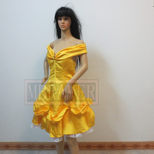 Beauty and the Beast Belle Cosplay costume Belle Dress Custom Made Any Size