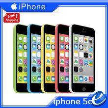 original iPhone5c factory unlocked Apple iphone 5C iOS phone 1G RAM 16G ROM 8MP WIFI GPS 4G color sealed USED cellphone warranty(China)