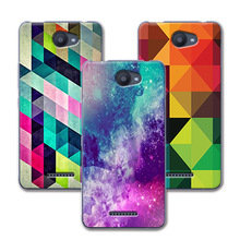 New Fashion Grid Painted Soft Silicone Case For BQ Aquaris U / BQ Aquaris U Lite Case Fundas For BQ Aquaris U Lite 5.0'' Coque