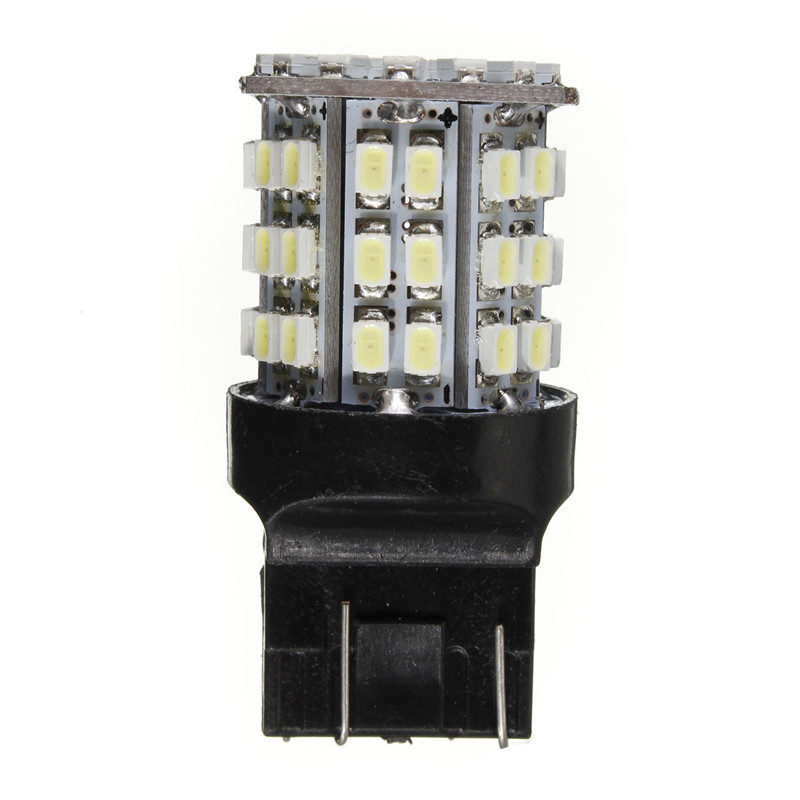 T20 7443 W21W W21/5W 64 SMD 1206 Car Back Up Light Bulb Auto Reverse Lights Backup Pure White 6000K<br><br>Aliexpress