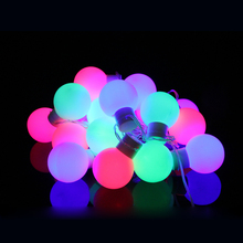 3M 20 balls Dcloud Curtain Icicle String Lights New Year Wedding Party(China)