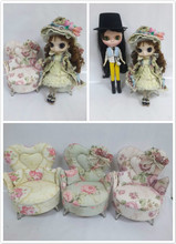 Free shipping Blyth doll chair accessories parts, Chair for BJD dolls,1/6 dolls, tangkou dolls.