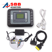 2017 Latest Sale V33.02 SBB New Immobilizer Transponder Auto Car Silca Sbb Key Programmer Multi-languages Universal Key Pro Tool