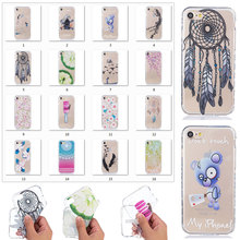New TPU Case for iphone 5 5s se 6 6s 7 6/6s/7 plus iPod Touch 5/6 colorful wave pattern non-slip painting phonecase A03