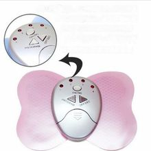 100pcs/lot electric body massager Mini Slimming Butterfly Body Muscle Massager Slim Relax Slimming Massager DHL freeshiipping