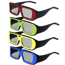 Fashion  Frame 0.42mm Thickness Passive 3D Glasses for RealD 3D Cinemas and LG Passive 3D TV Circular Polarized 3D Glasses