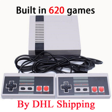 5-120 Pieces Classic Mini TV Game Console Retro Video Game Console 8 Bit With 620 Different Built-in Games Double Gamepads