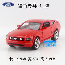 High simulation model,1:36 Alloy pull back toy cars,Ford Mustang 2006 FORD GT,free shipping(China)