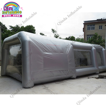 9*4*3M Portable Waterproof Inflatable Spray Booth, Inflatable Car Paint Booth Tent With Filter System