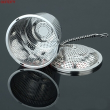 1PC Practical Tea Ball Strainer Mesh Infuser Filter 304 Stainless Steel Herbal New #H0VH#(China)