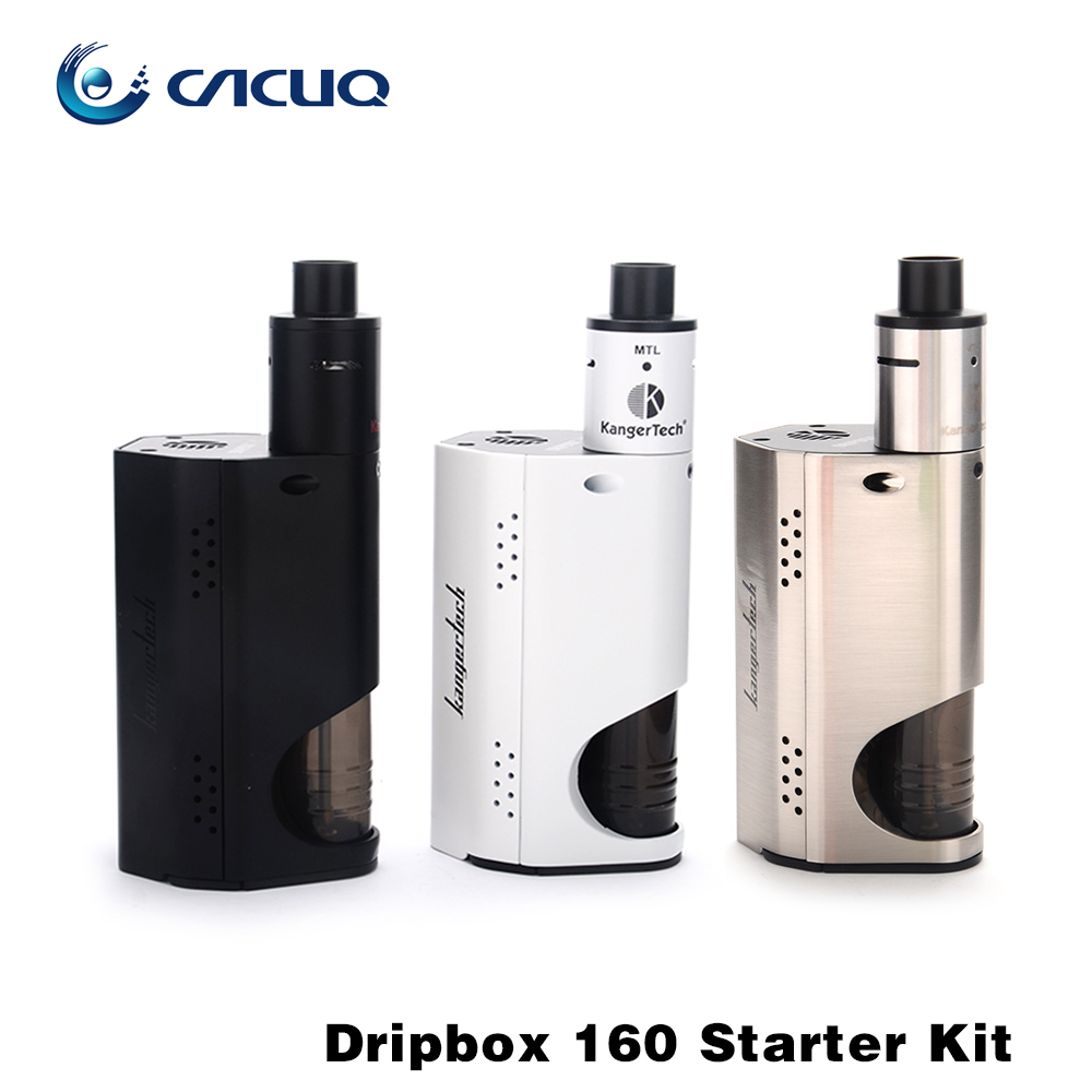 100% Original Kanger Dripbox 160w Starter Kit with 7ML Subdrip RDA Atomizer TC 160W Dripmod Kangertech Dripbox<br><br>Aliexpress