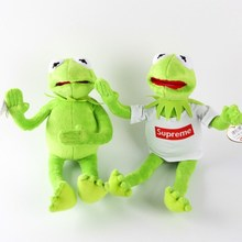 Sesame Street The Muppets Kermit the Frog 40cm Plush Toys Cartoon Soft Stuffed Dolls Kids Birthday Gift