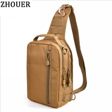 2017 New Men's Nylon Shoulder Bag Messenger Bag Double Shoulder Pack Man Multifunction Bag Mountaineering Bags WY085(China)