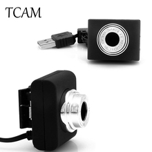 TCAM Top Sale!! 1PC Mini USB 5M Retractable Clip 120 Degrees WebCam Web Wide-angle For Camera Laptop U7 High Quality Brand New