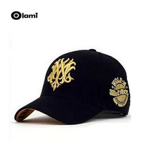 Olami sale whole hats polyester sport baseball caps brand golf hip hop for men women casquette wolf(China)