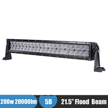 200W LED Work Light Bar Car Offroad Driving Fog light LED Bar ATV  UTV UTB Truck Pickup for Honda Pioneer 1000-5 Polaris RZR SUV