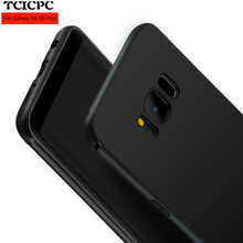 For Samsung Galaxy S8 S8 plus Silicone TPU case Luxury 360 protected Ultra thin scrab matte soft case for S 8 S8 Plus anti knock