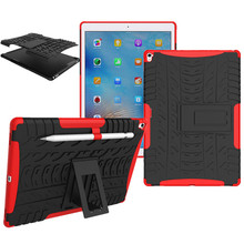 Tablet Case For apple iPad Pro 9.7 / pro mini case Heavy Duty Defender Rugged TPU+PC Armor Shockproof KickStand Protective Cover(China)