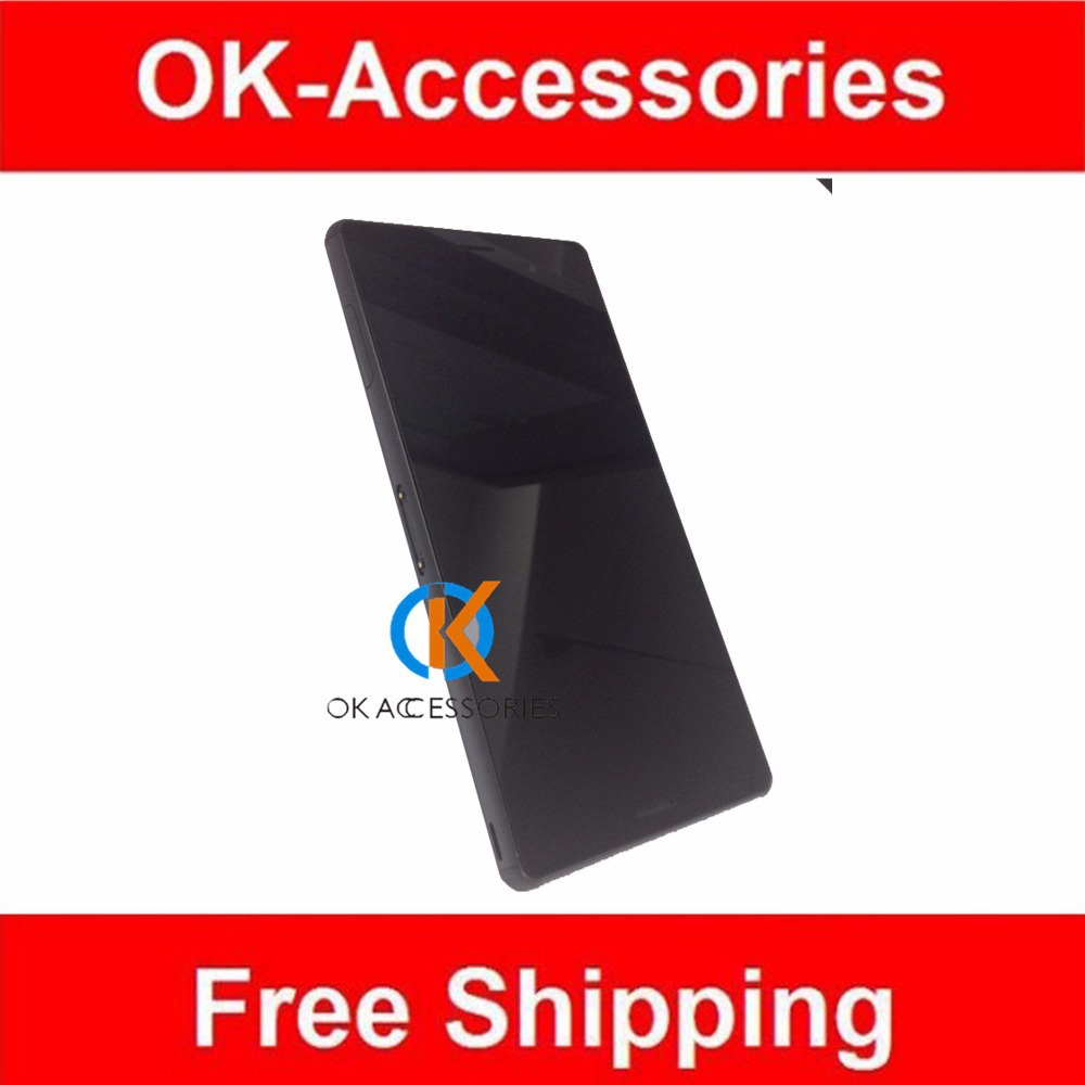 Black Color For Sony Xperia Z3 L55T LCD Display+Touch Screen Digitizer+Frame Single/Dual SIM Card 1PC/Lot <br><br>Aliexpress